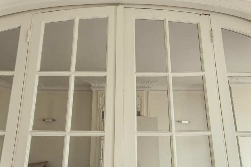 Large antique sliding glass door-5