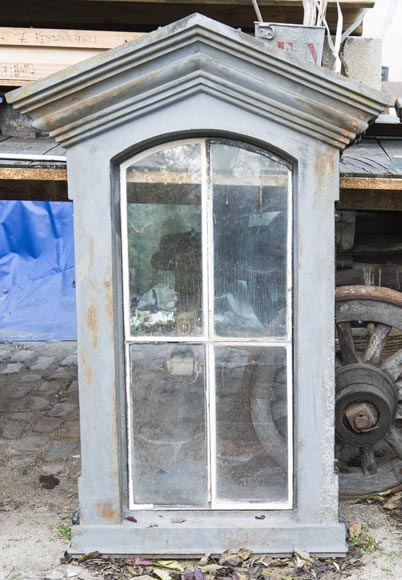 Set of four cast iron window frames-3