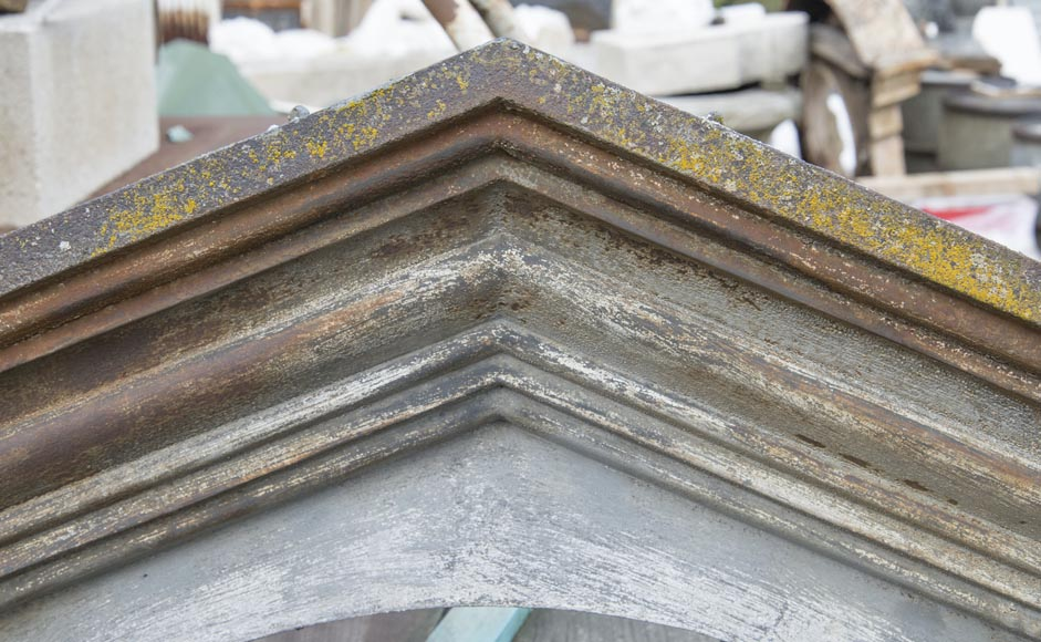Set of four cast iron window frames-5