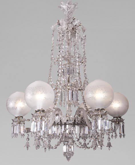 BACCARAT Crystal - Luster with six lights-0