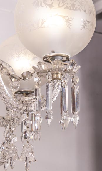 BACCARAT Crystal - Luster with six lights-4