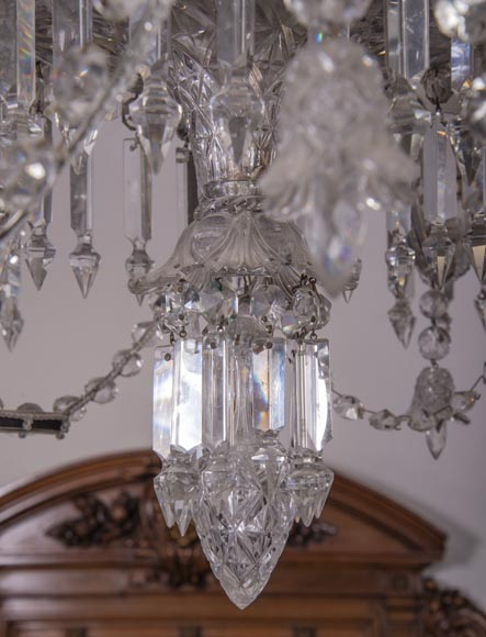 BACCARAT Crystal - Luster with six lights-6