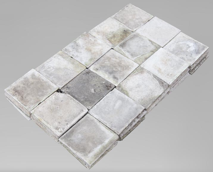 Small set of 18th century marble slabs-0
