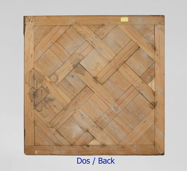 Set of Versailles pegged oak parquet flooring from the 20th century-7