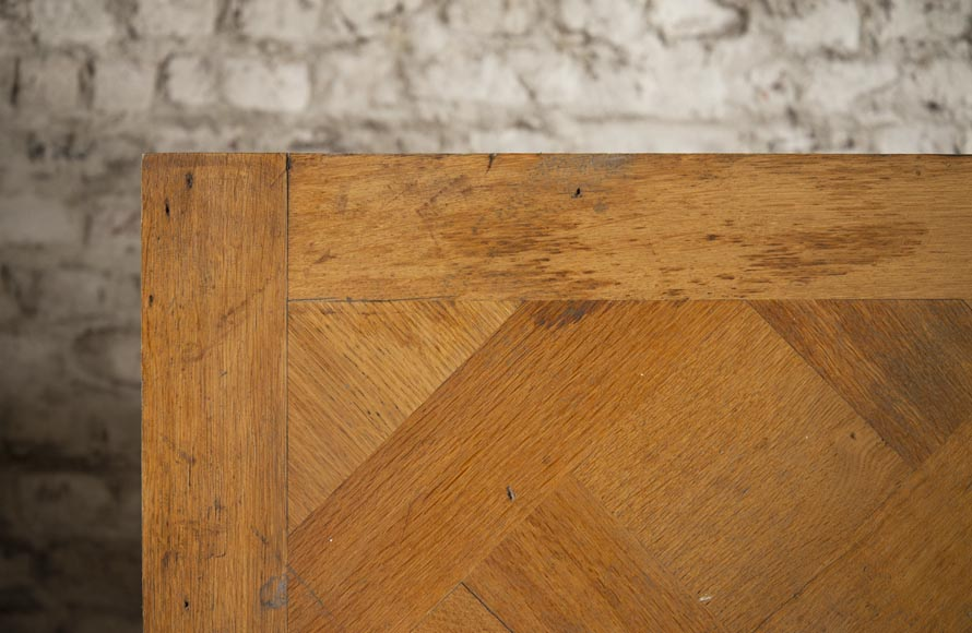Set of 20th century Versailles oak parquet flooring-1