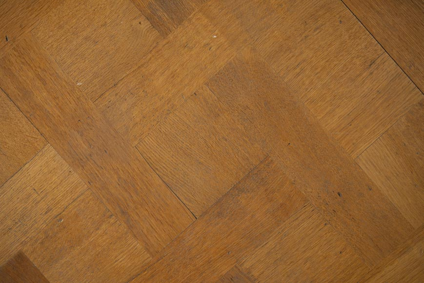 Set of 20th century Versailles oak parquet flooring-2