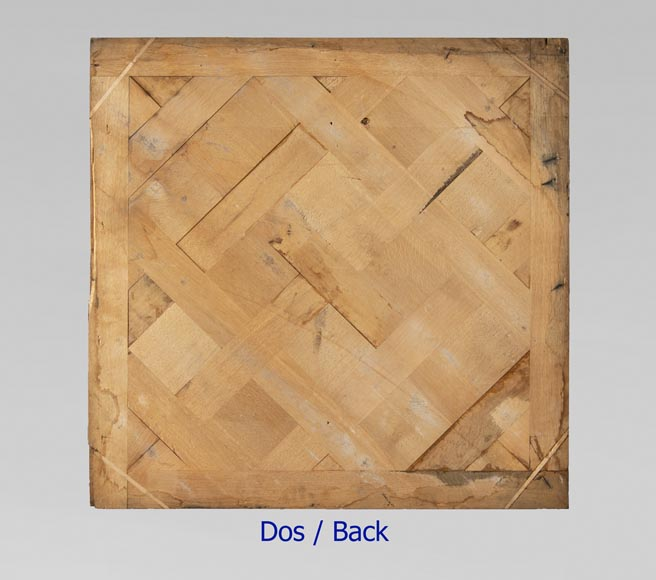 Set of 20th century Versailles oak parquet flooring-4