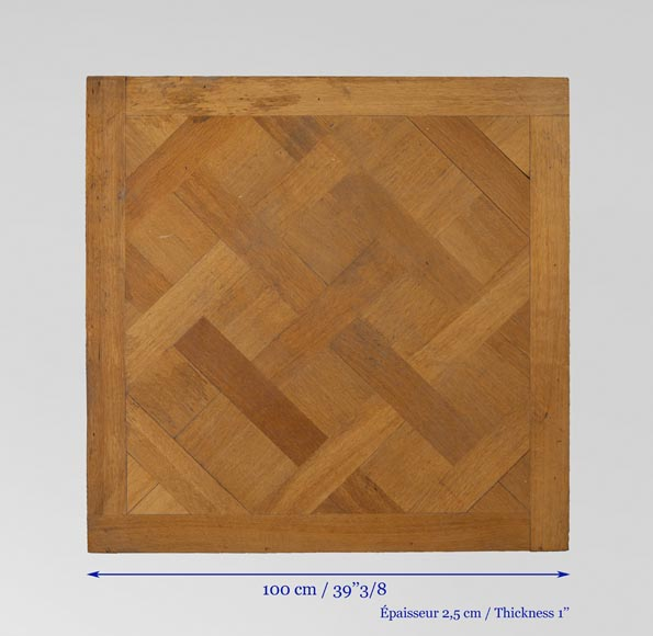 Set of 20th century Versailles oak parquet flooring-6