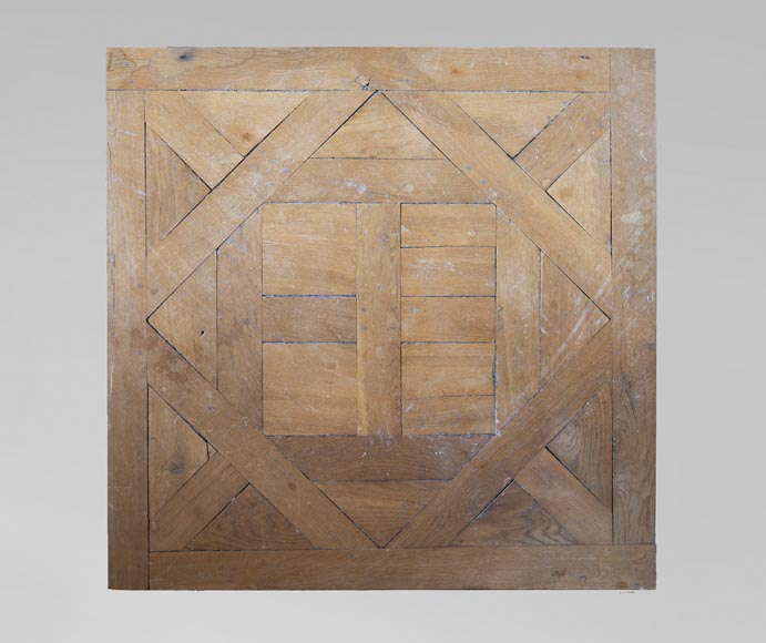 Oak Aremberg parquet flooring, made from old wood-0