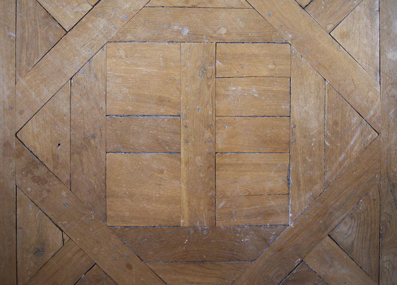 Oak Aremberg parquet flooring, made from old wood-1