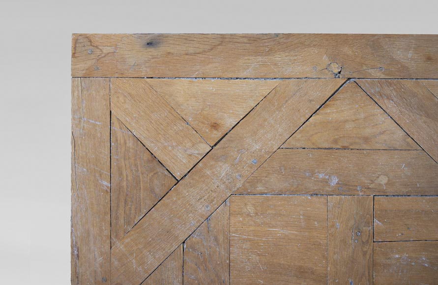 Oak Aremberg parquet flooring, made from old wood-2