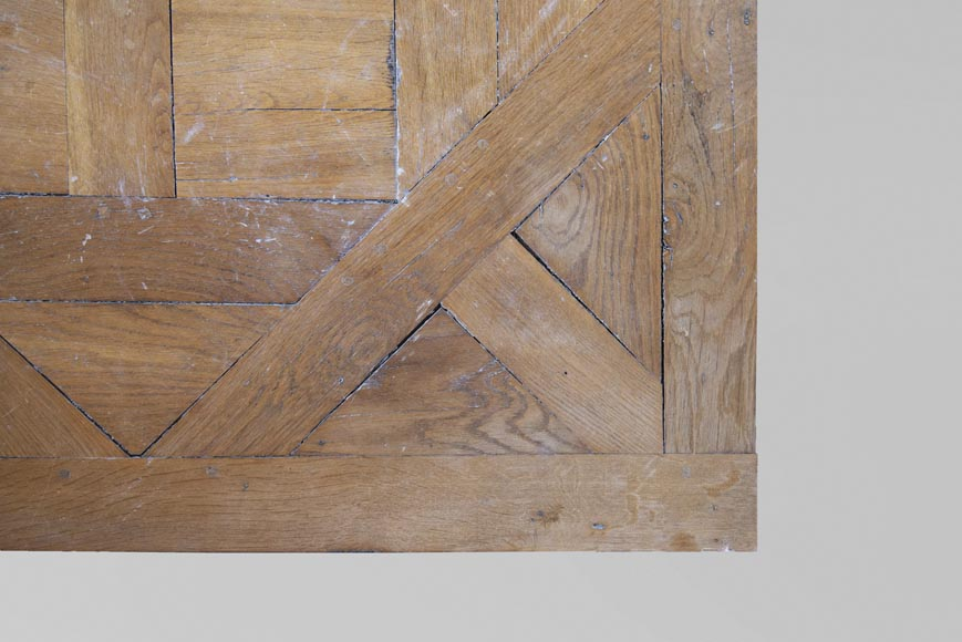 Oak Aremberg parquet flooring, made from old wood-3