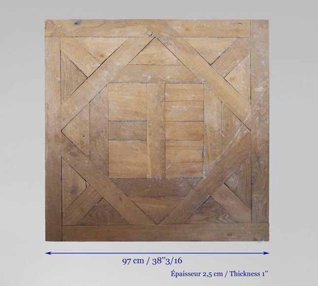 Oak Aremberg parquet flooring, made from old wood-6