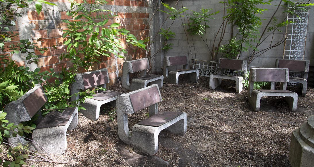 Denis MOROG (1922-2003) - Concrete garden furniture from the 1960s to 1970s-1