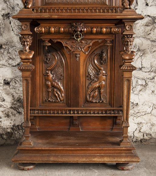 Small Neo-Renaissance style display cabinet-5