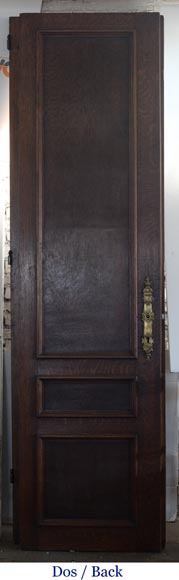 Double door in carved oak in Napoleon III style-9
