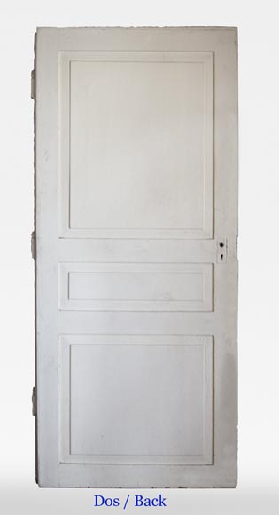 Pair of simple Empire style doors-7
