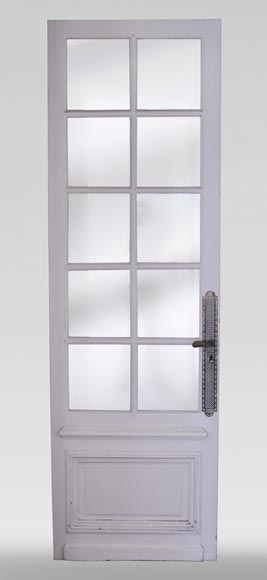 Simple door with small mirrors-0