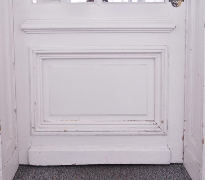 Simple door with small mirrors-4