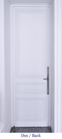 Simple door with small mirrors-5