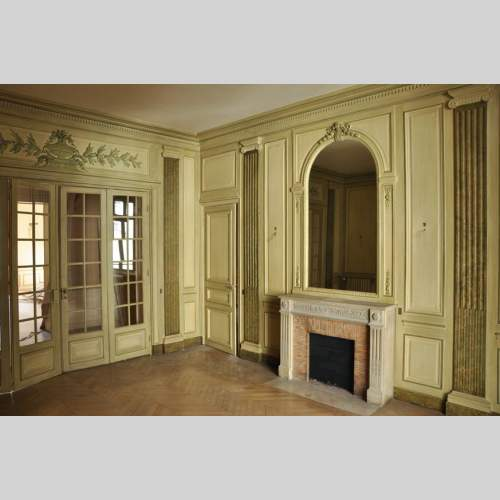 . Interior Decoration   Paneled rooms