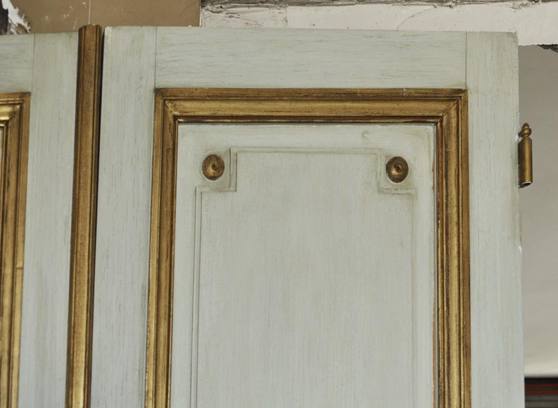 Pair of Louis XVI style double doors-2
