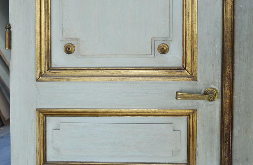 Pair of Louis XVI style double doors-3