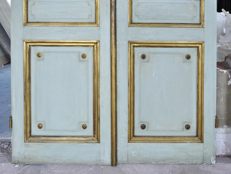 Pair of Louis XVI style double doors-4