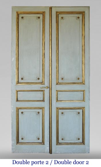Pair of Louis XVI style double doors-7