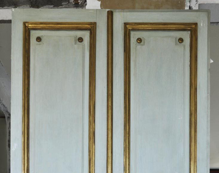 Pair of Louis XVI style double doors-8