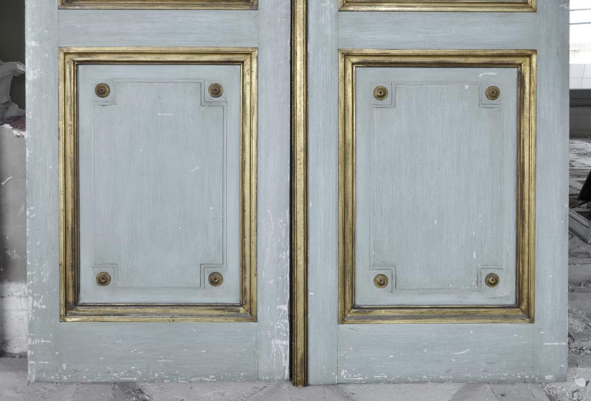 Pair of Louis XVI style double doors-10