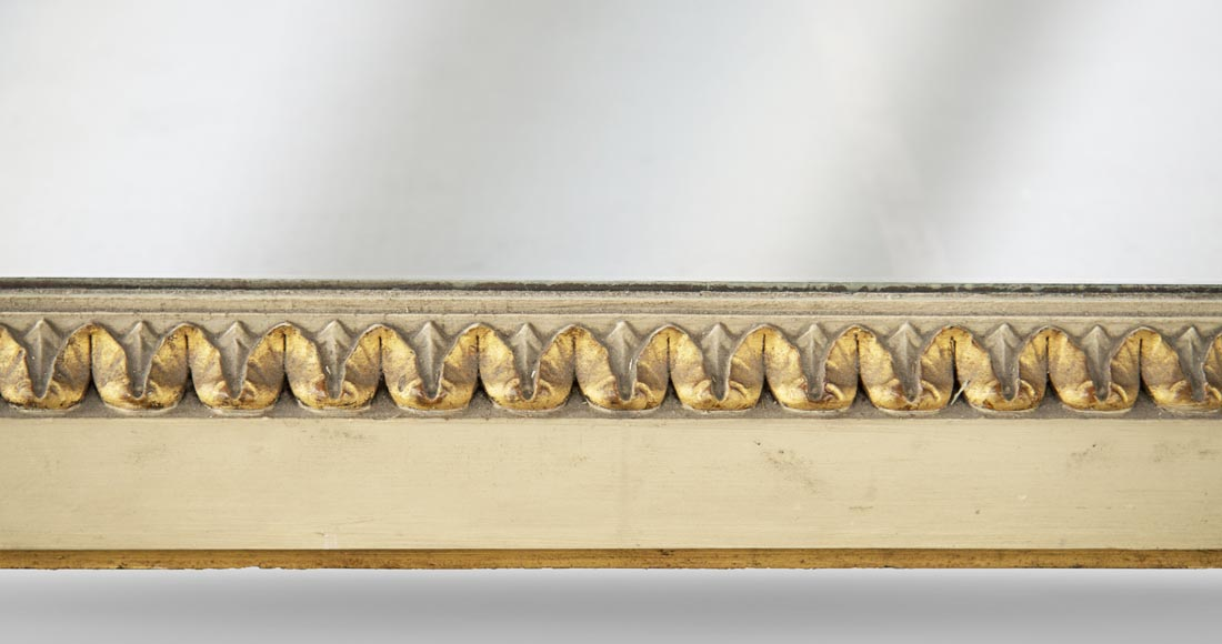 Antique trumeau decorated with a gilded frieze in the Louis XVI style-5