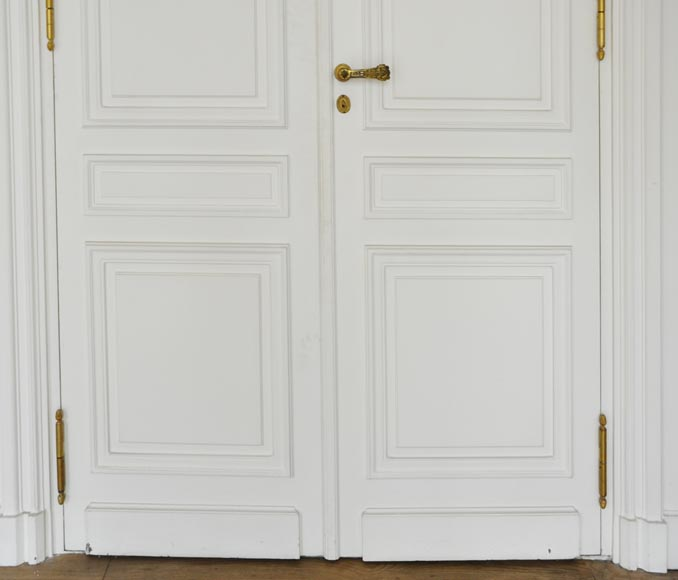 Suite of four Louis XVI style double doors-2