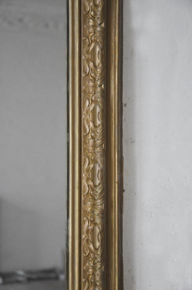 Antique Regence style overmantel pierglass in