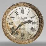 Collin-Wagner - 18th century building clock revisited in the second half of the 19th century