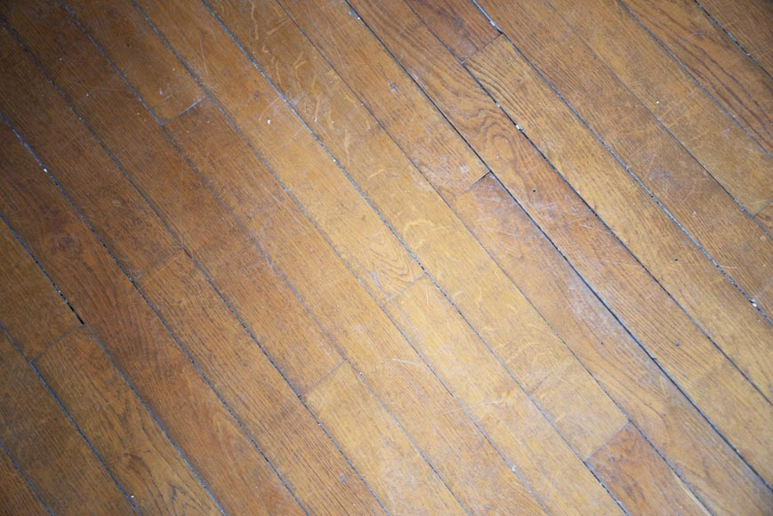 Lot of old oak parquet flooring with a surface area of 13 m2-2