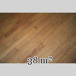 Lot of 38 m2 of old oak parquet flooring