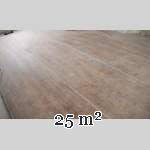 Lot of 25 m2 of antique oak parquet flooring