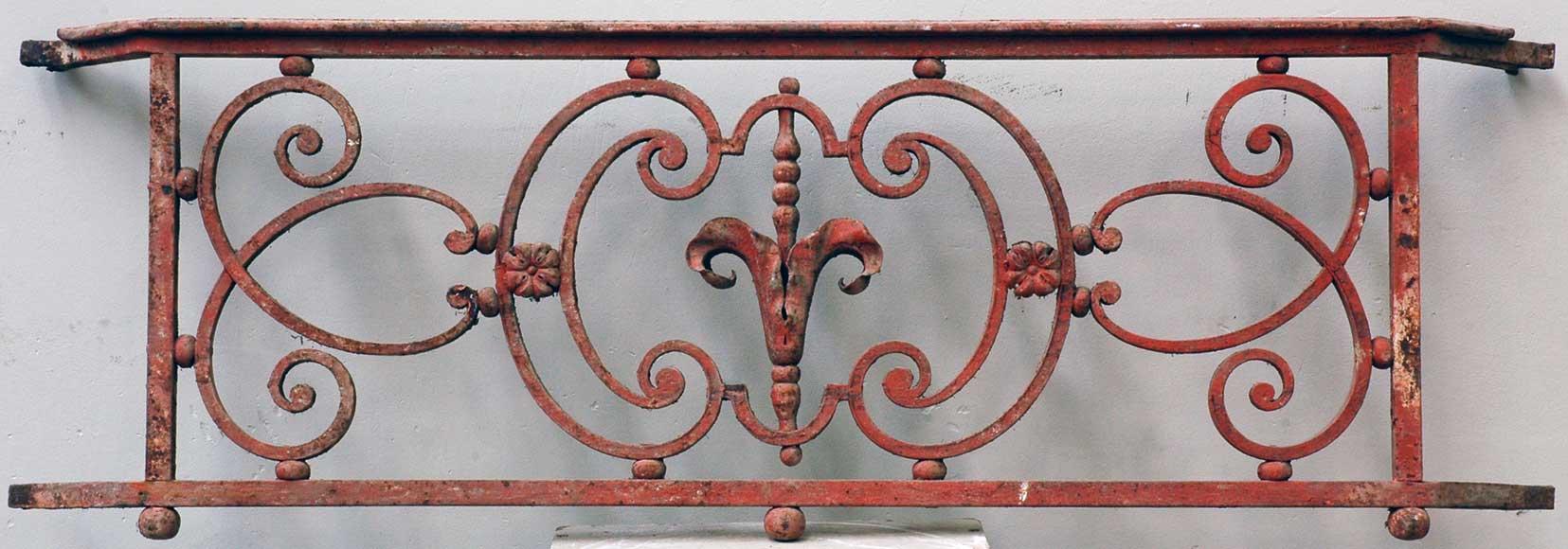 Single 18th Century Iron Balcony Railing Balconies And
