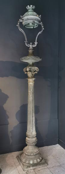 Important pair of bronze candelabra, 1868-1