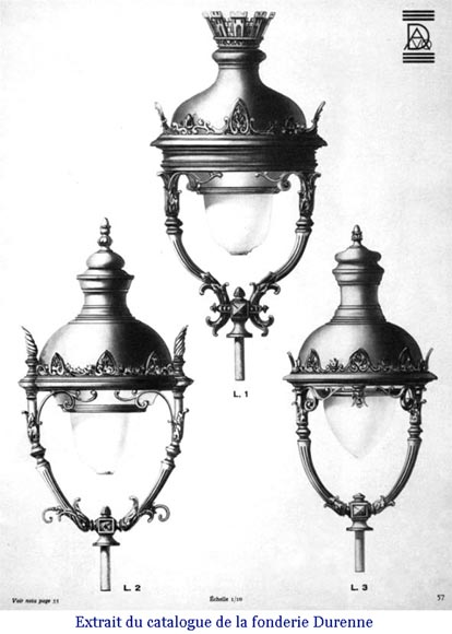 Important pair of bronze candelabra, 1868-11