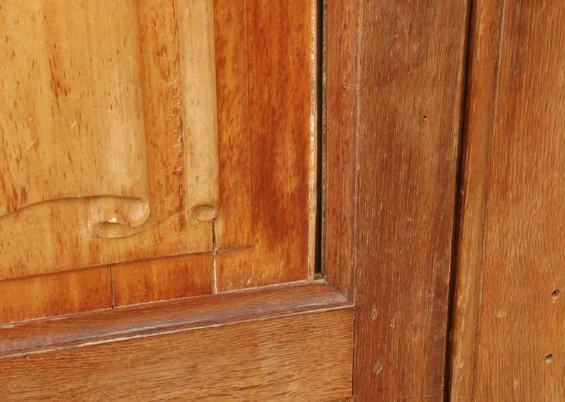 Set of 19th century wooden doors