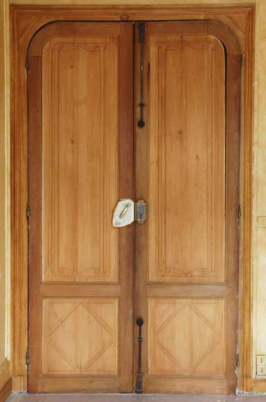 Set of 19th century wooden doors - Reference 1297