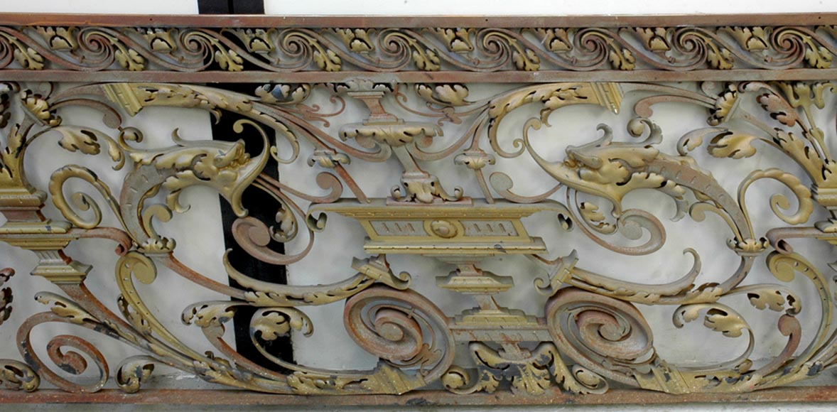 Exceptional banister from the Napoleon III period-1
