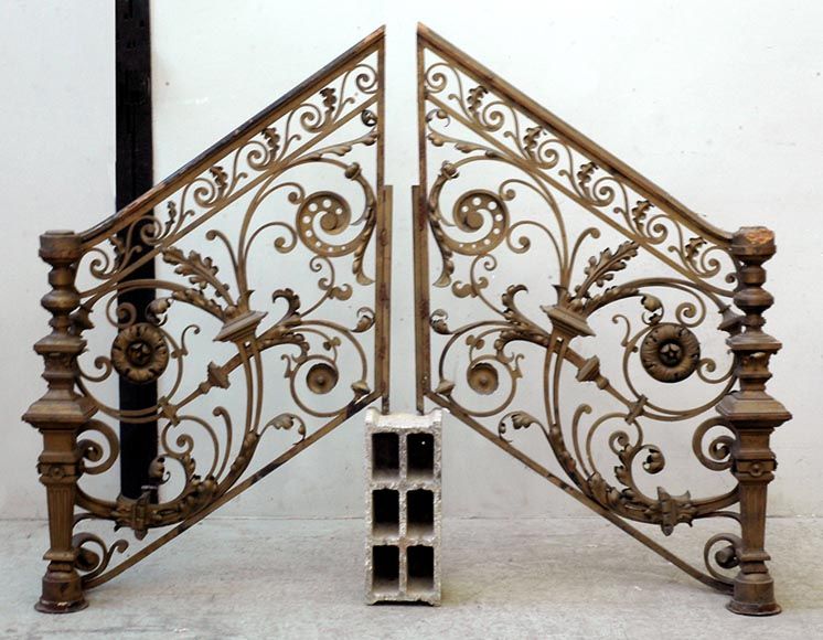 Exceptional banister from the Napoleon III period-7