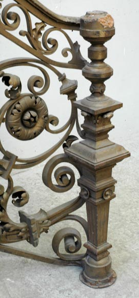 Exceptional banister from the Napoleon III period-8