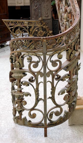 Exceptional banister from the Napoleon III period-10