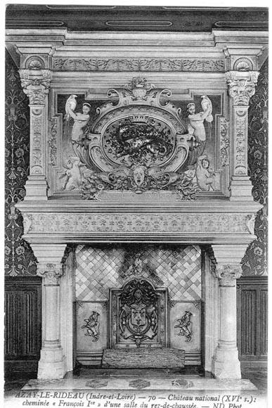 monumental antique neo renaissance style mantel
