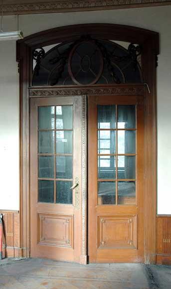 Oak Paneled Rooms : Louis xvi style oak and stucco paneled room rooms