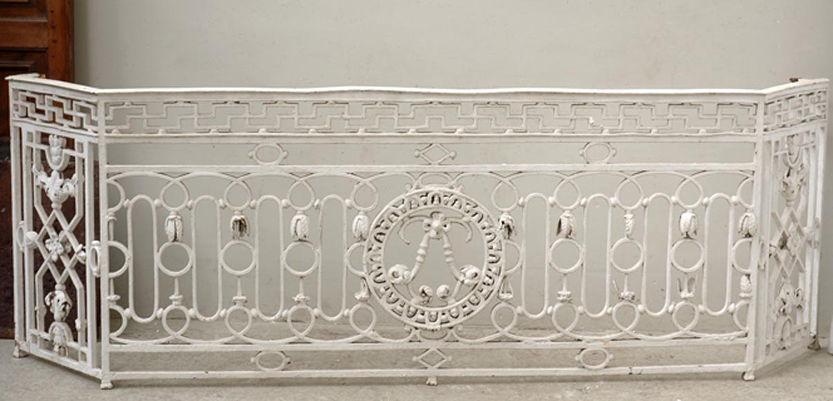 Antique Louis XVI balcony from the 18th century  - Reference 1632